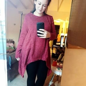 Sweaters - Assymetrical sweater